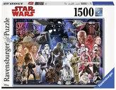 Puzzle Vesmír Star Wars 1500 dílků