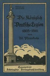 Die königlich deutsche Legion 1803-1816