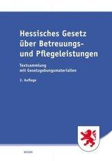Hessisches Gesetz über Betreuungs- und Pflegeleistungen (HGBP)