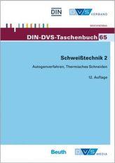 Autogenverfahren, Thermisches Schneiden Normen und Merkblätter