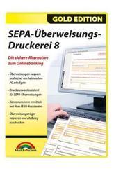 SEPA Überweisungs Druckerei 8, 1 CD-ROM