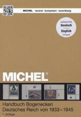 Michel-Katalog- Handbuch Bogenecken Deutsches Reich von 1933 - 1945