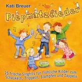 Piepmatzlieder - 25 frische Singhits für fröhliche Kinder zum Schaukeln, Trippeln, Stampfen und Zappeln, Audio-CD