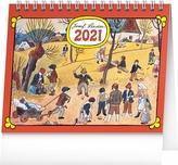 Stolní kalendář Josef Lada Na poli 2021