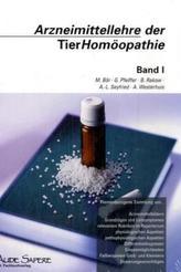 Arzneimittellehre der TierHomöopathie. Bd.1