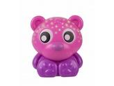 Playgro - Usínací lampička medvídek s projektorem-růžový
