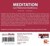 Meditation nach Tibetischem Buddhismus, 1 Audio-CD