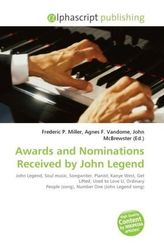 Awards and Nominations Received by John Legend