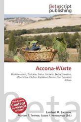Accona-Wüste