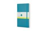 Moleskine Notizbuch, Pocket, A6, blanko, soft cover, unterwasser-blau