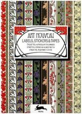 Art Nouveau - Labels, Stickers & Tapes