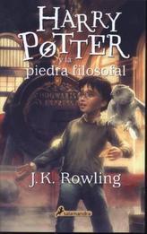 Harry Potter y la piedra filosofal. Harry Potter und der Stein der Weisen, spanische Ausgabe