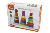Dřevěná pyramida 3v1