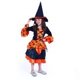 Dětský kostým Čarodějnice, Čarodějnice / Halloween (M)