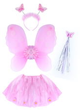 Dětský kostým Květinka s křídly