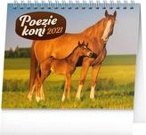 Stolní kalendář Poezie koní 2021