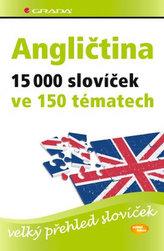 Angličtina 15 000 slovíček ve 150 tématech