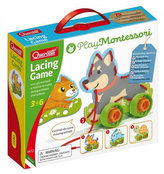 Lacing Game lacing animals & wheels - šněrovací zvířátka s kolečky