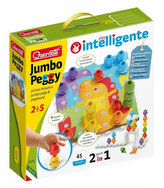 Jumbo Peggy jumbo pegs & pegboard - mozaika s velkými kolíčky