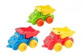 Auto stavební sklápěčka plast 1 ks (3 r§zné barvy)