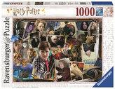Puzzle Harry Potter Voldemort/1000 dílků