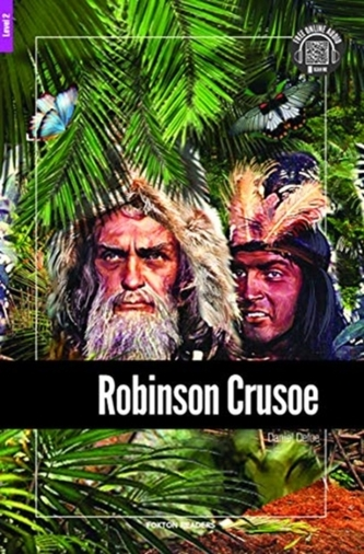 Robinson Crusoe - Foxton Reader Level-2 (600 Headwords A2/B1) with free online AUDIO