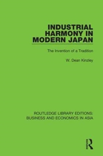 Industrial Harmony in Modern Japan
