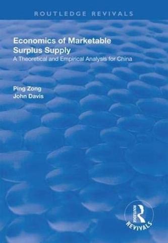 Economics of Marketable Surplus Supply