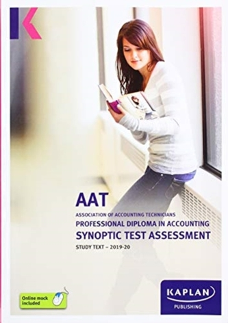 PROFESSIONAL DIPLOMA IN ACCOUNTING SYNOPTIC TEST ASSESSMENT - STUDY TEXT