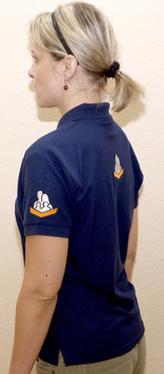 RK tričko modré dámské L