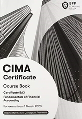CIMA BA3 Fundamentals of Financial Accounting