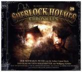 Sherlock Holmes Chronicles - Der schwarze Peter, 1 Audio-CD