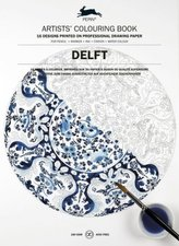 Artists' Colouring Book Delft Blue