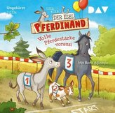 Der Esel Pferdinand - Volle Pferdestärke voraus!, 2 Audio-CDs