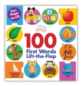 DISNEY BABY 100 FIRST WORDS LIFTTHEFLAP