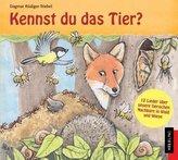Kennst du das Tier?, 1 Audio-CD