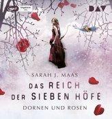 Das Reich der Sieben Höfe - Teil 1: Dornen und Rosen, 2 Teile, MP3-CD