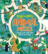 Lift-the-Flap: Animal Mazes