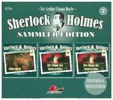 Sherlock Holmes Sammler Edition. Box.7, 3 Audio-CDs