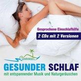 Gesunder Schlaf - Geführte Meditation, 2 Audio-CDs