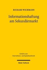 Informationshaftung am Sekundärmarkt