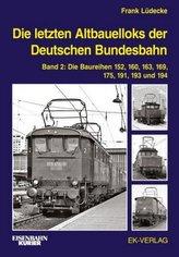 Die letzten Altbauelloks der Deutschen Bundesbahn. Bd.2