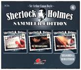 Sherlock Holmes Sammler Edition. Box.6, 3 Audio-CDs
