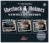 Sherlock Holmes Sammler Edition. Box.9, 3 Audio-CDs