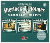 Sherlock Holmes Sammler Edition. Box.8, 3 Audio-CDs