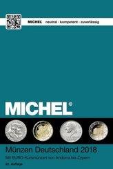 MICHEL Münzen Deutschland 2018
