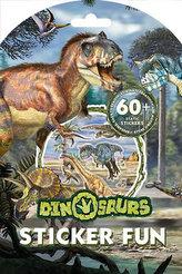Dinosauři - Samolepková zábava