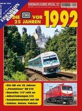 Die DB vor 25 Jahren - 1992