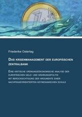 Das Krisenmanagement der Europäischen Zentralbank