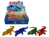 Krokodýl 1 ks / různé barvy